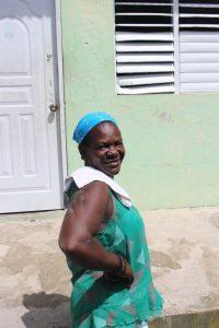 Yvrose, Esperanza associate, used a loan from Esperanza to open a neighborhood store